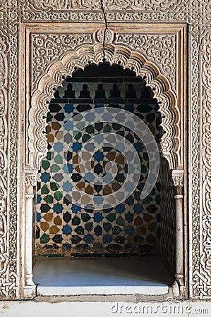 Islamitische decoratie stock fotografie afbeelding 14939992 - Muurpaneel gevuld ...