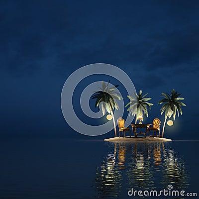 Free Island Royalty Free Stock Photography - 15045287