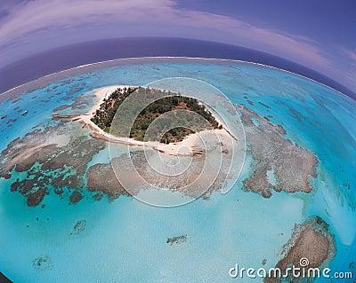 Island above Sea