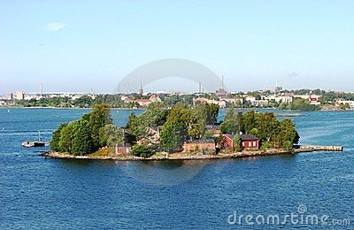 An island close to Helsinki, Finland