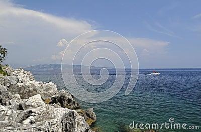 Island Corfu