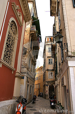 Island Corfu, city of Corfu, Ionian sea, Greece