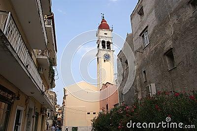 Island Corfu, city of Corfu, Ionian sea, Greece