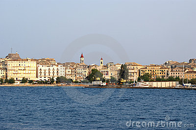 Island Corfu, Ionian sea, Greece