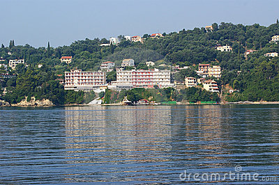 Island Corfu, Ionian Sea, Greece Stock Photos - Image: 12114173