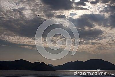 Island Gokceada-Aegean sea.