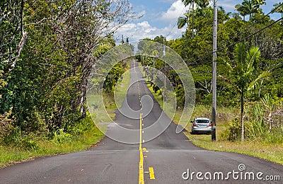 An island highway