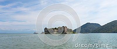 Island in Lake Skadar