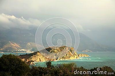 Island near Budva – Montenegro