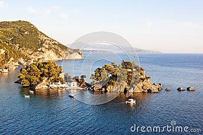 Island near Parga, Greece, Europe