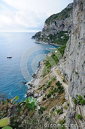 Free Island Of Capri Coastline - Italy Stock Photo - 13961260