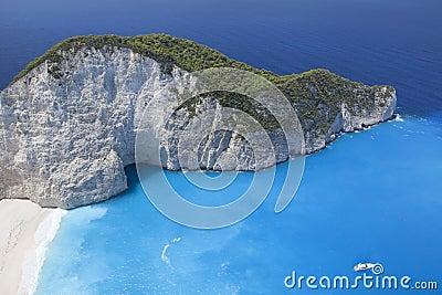Island paradise. Ionic Sea of Greece Zakynthos