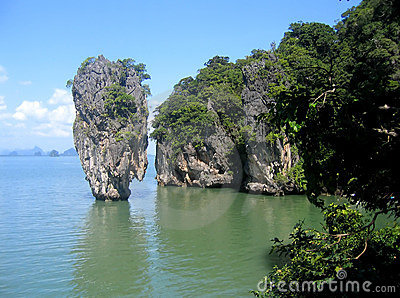 Island in Phang Nga Bay, Thailand