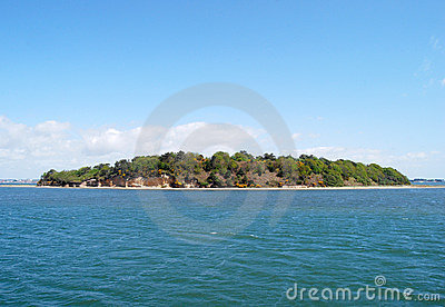 Island in Poole harbour