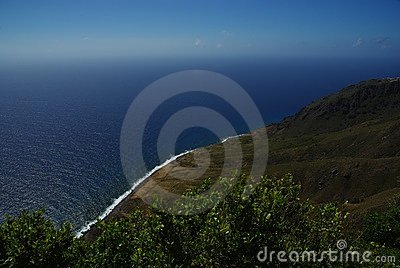 Island of Saba Caribbean