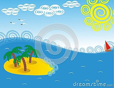 Island in the sea