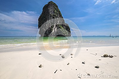Island sea sand sun beach nature destination wallpaper