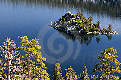 Island in the Sierras