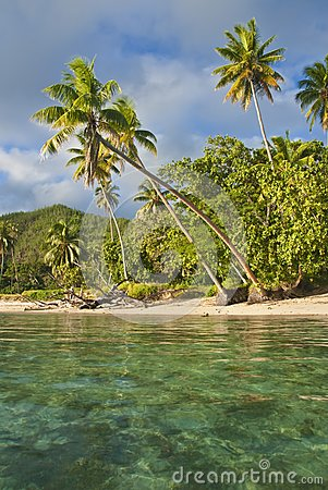 Island in south pacific