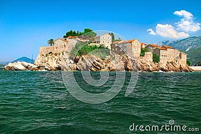 Island of Sveti Stefan Montenegro
