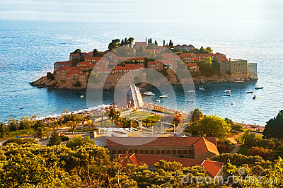 Resort Island of Sveti Stefan Montenegro