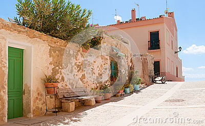 The Island Tabarca for the Spanish coast.