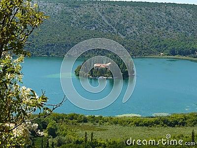 The island of Visovac.