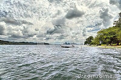 Islands in Andaman sea