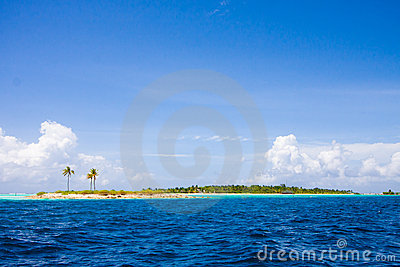 Islands on Maldives