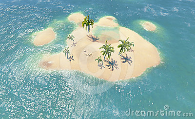 Islands and palms