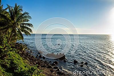 Islands shoreline