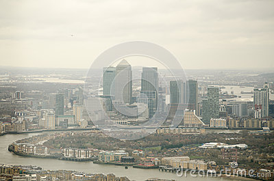 Isle of Dogs Skyline, London