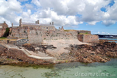 Isle Of Jersey: Elizabeth Castle Stock Images - Image: 20234734