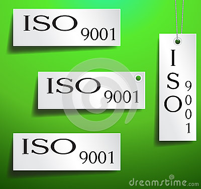 Iso Certification Tag