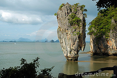 Isola del James Bond (KOH Tapoo), in Tailandia