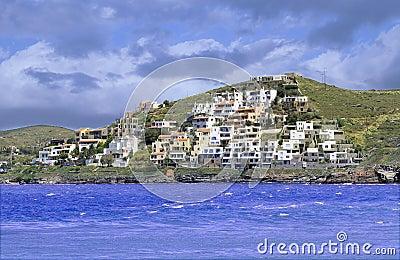 isola di kea in grecia fotografia stock libera da diritti