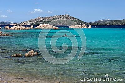 Isola Maddalena in Sardinia