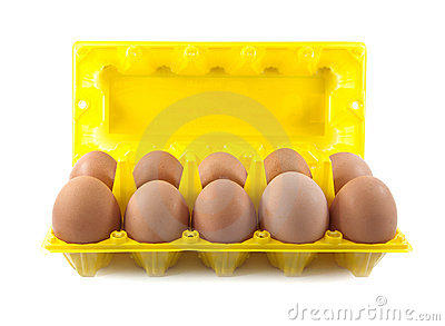 Isolate eggs in the package