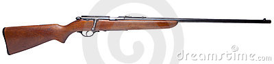Isolated .22 caliber rifle