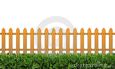 Isolated 3D fence