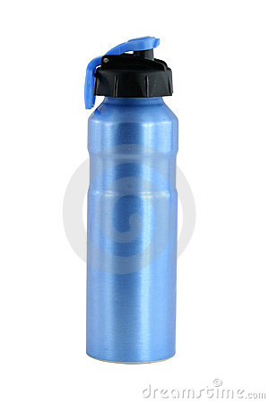 Free Isolated Aluminum Water Bottle Stock Photos - 12870013