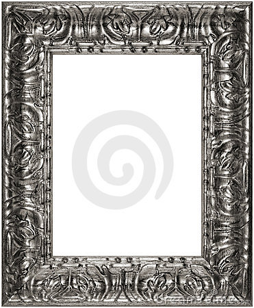 Isolated Antique Picture Frame