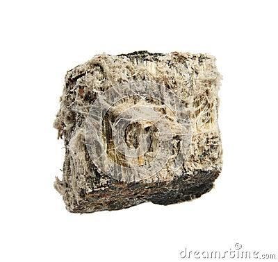 Isolated asbestos