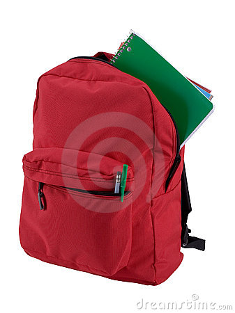 Free Isolated Backpack Stock Photography - 878802