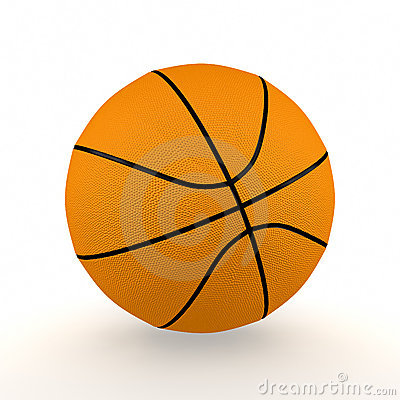Isolated Basketball