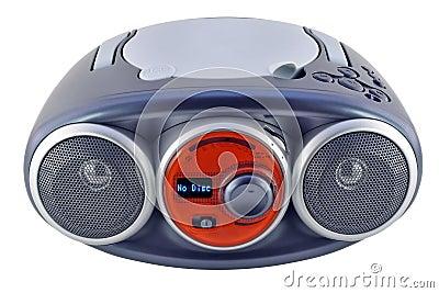 Isolated blue radio device