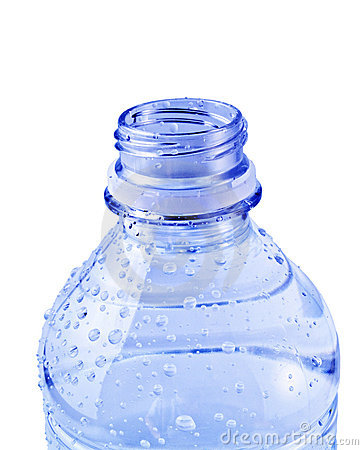 Free Isolated Blue Water Bottle Stock Image - 3004021