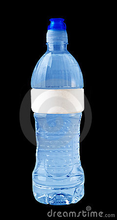 Free Isolated Blue Water Bottle Stock Images - 3004414