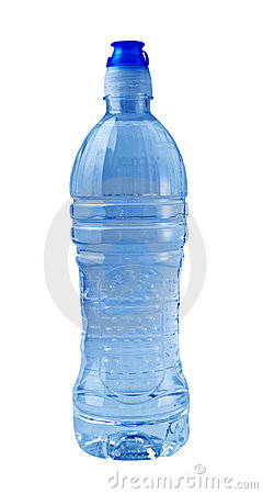 Free Isolated Blue Water Bottle Royalty Free Stock Image - 3004416