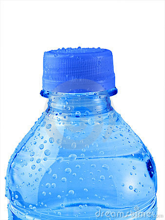 Free Isolated Blue Water Bottle Royalty Free Stock Photos - 3004428
